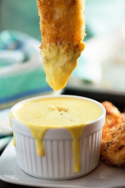 Leichte Honig-Senf-Sauce