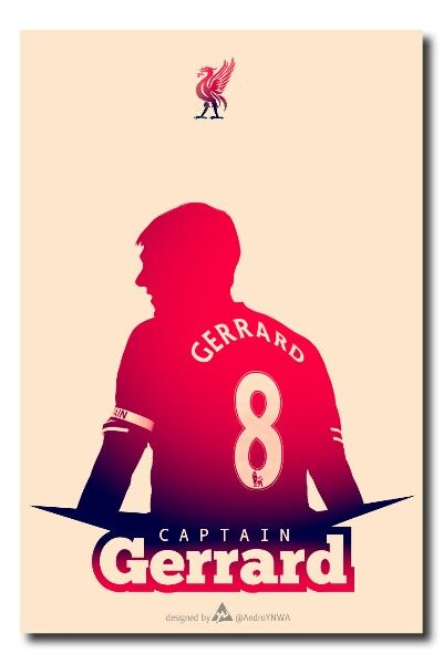 Captain Gerrard by Andro YNWA