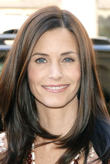 Courtney Cox Hairstyles Through Years Short