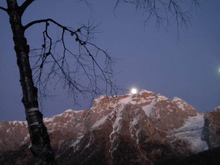 tramonto a campiglio