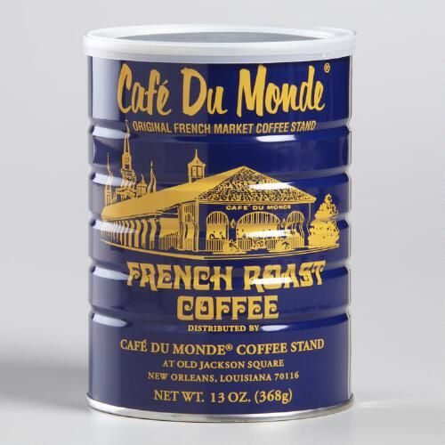 One of my favorite discoveries at WorldMarket.com: Cafe Du Monde French Roast Coffee