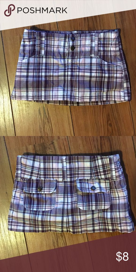Abercrombie girls plain skort Plain skort would look cute with leggings! abercrombie kids Bottoms Skorts