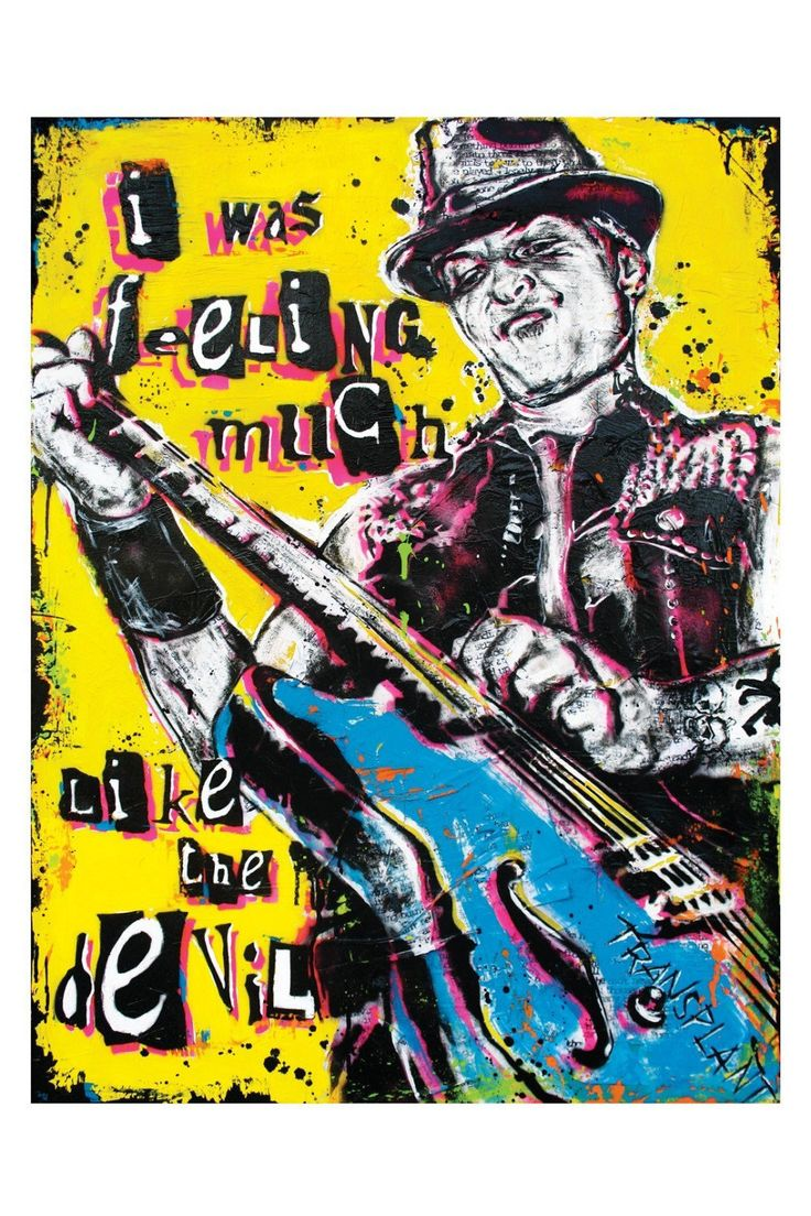 Tim Armstrong Rancid The Transplants - Art Print Poster 12 x 18 by pointblankart on Etsy https://www.etsy.com/listing/43536141/tim-armstrong-rancid-the-transplants-art