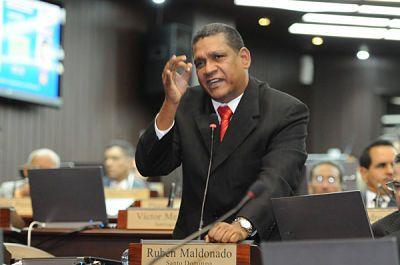Rubén Maldonado enfatiza sector eléctrico financió con 100 millones Marcha Verde El próximo presidente de la Cámara de Diputados a partir del 16 agosto del presente año, Rubén Maldonado,