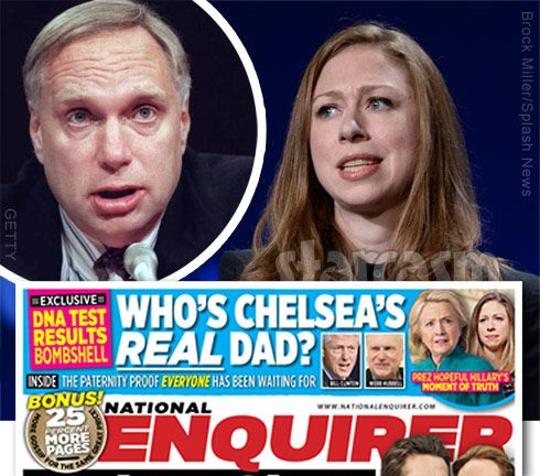 The new report adds fuel to a rumor fire started last year when it was reported that Webster Hubbell, the former mayor of Little Rock, Arkansas, is her real father. Description from starcasm.net. I searched for this on bing.com/images