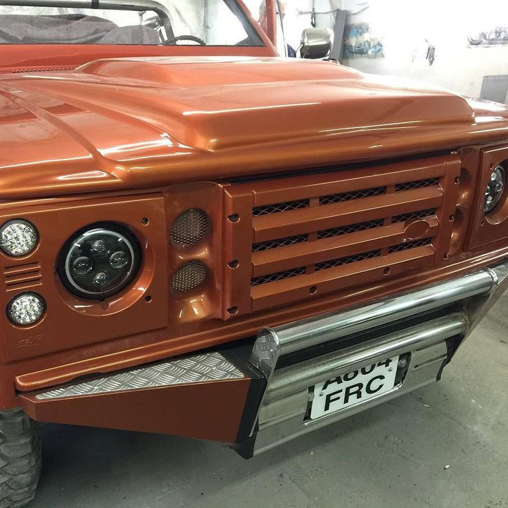 Some thing a little different it's called the landchev  also has one of our puma bonnets built into it.#landy #landrover #landroverdefender #defender90 #defender110 #4x4 #v8 #chevy #chevytrucks #osram #led by grpmylandy Some thing a little different it's called the landchev  also has one of our puma bonnets built into it.#landy #landrover #landroverdefender #defender90 #defender110 #4x4 #v8 #chevy #chevytrucks #osram #led