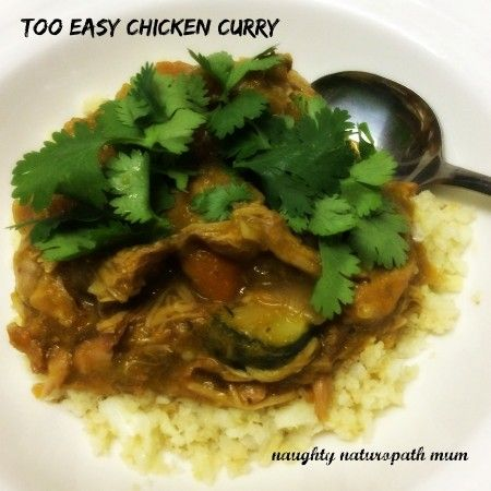Too Easy Chicken Curry
