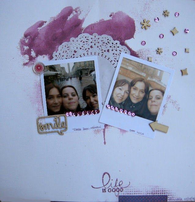 Amiche di Scrap: sfida Layout #13 - Rita DT