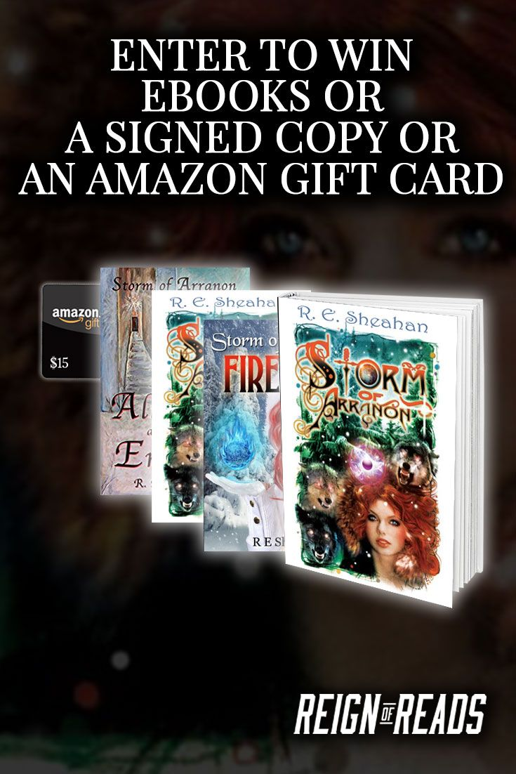Win Signed Copies, Ebooks Or A $15 Amazon Gift Cards From Awardwinning  Author