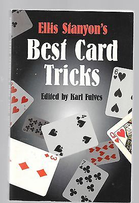 ELLIS STANYON'S BEST CARD TRICKS EDITED BY KARL FULVES MAGIC BOOK Collectibles:Fantasy, Mythical & Magic:Magic:Books, Lecture Notes www.webrummage.com $14.99