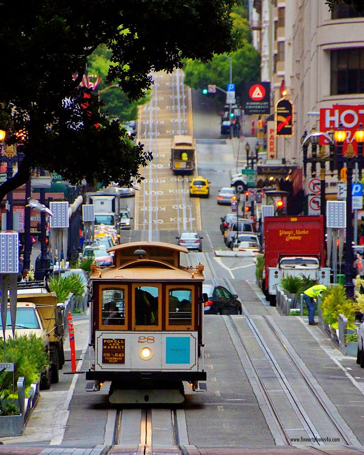 San Francisco, California. This reminds me of That's So Raven! :D