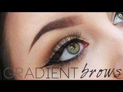 Gradient Brow Tutorial | Using Anastasia Dip Brow Pomade | RawBeautyKristi - YouTube