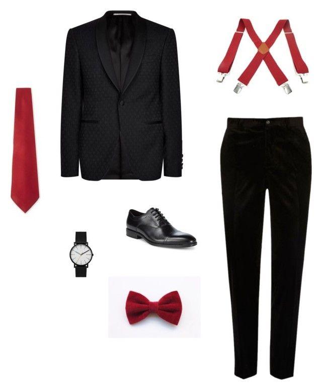 man fashions by tereza17-novakova17 on Polyvore featuring River Island, Canali, Kenneth Cole, Skagen, Salvatore Ferragamo, men's fashion and menswear