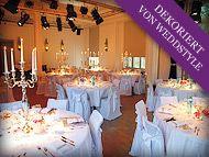 Tischdekoration Hochzeit Wiesbaden