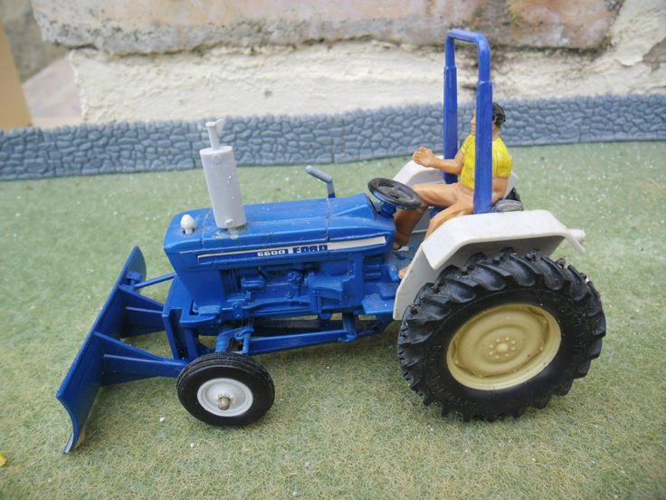 Britains Farm Ford 6600 Yard Tractor with Muledozer   eBay