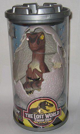 Jurassic Park Raptor Hatchling Lost World @ niftywarehouse.com #NiftyWarehouse #JurassicPark #Jurassic #Dinosaurs #Film #Dinosaur #Movies