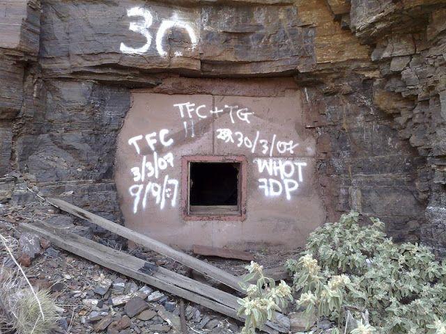 Abandonedd Mine Wittenoom, Australia
