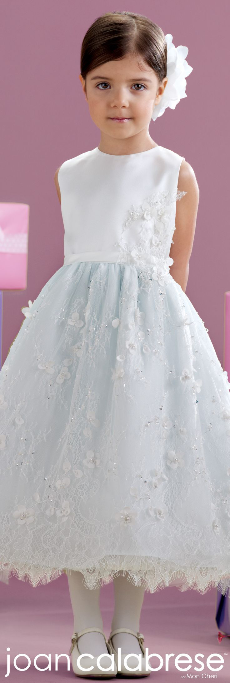 Joan Calabrese for Mon Cheri - Style No. 215344 #flowergirldresses