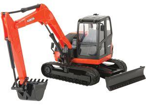 #Kubota #excavator #toy #kidstoy #childrensgift #Kubota Merchandise Available at Kooy Bros | Kooy Brothers
