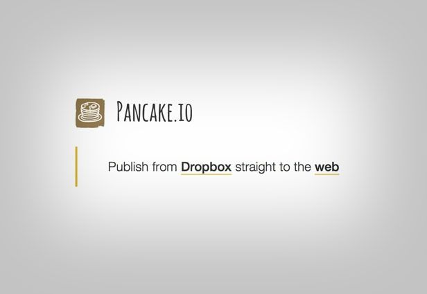 Use DropBox with a service like DropPages or Pancake.io to create a small and simple website with minimal effort.