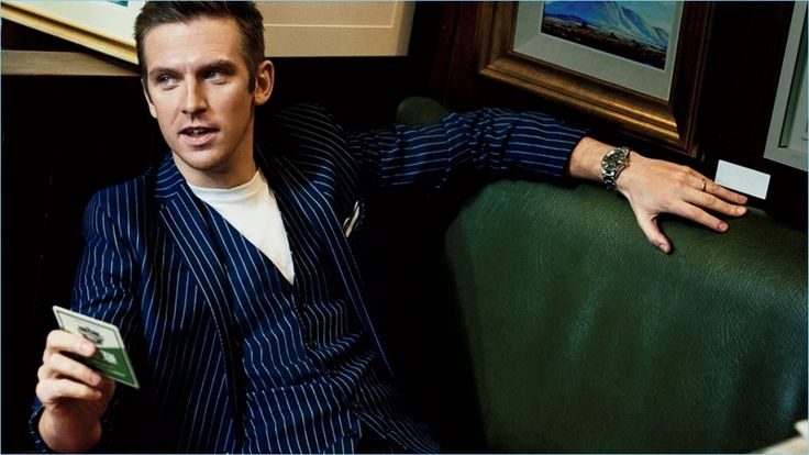 David Burton photographs Dan Stevens for the latest issue of GQ magazine.