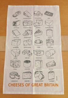 エディス&ボブのイギリスのフードのティータオル|コニーズ conny'z〜イギリスからの届け物〜