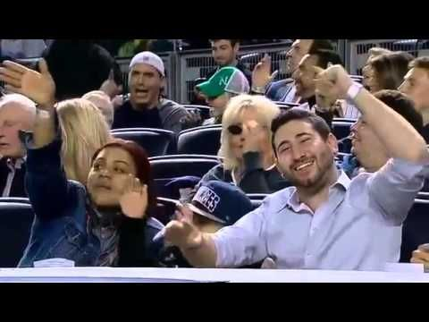 "Sweet Caroline at Yankee Stadium 4/16/13  ""CLASSY JESTURE"" BY THE YANKEES TO SUPPORT BOSTON!!"