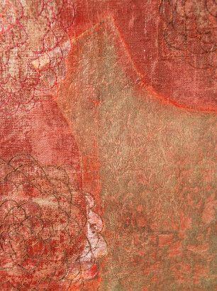 Artist Synnöve Dickhoff, Finland. Missing Daughter 18 (detail)