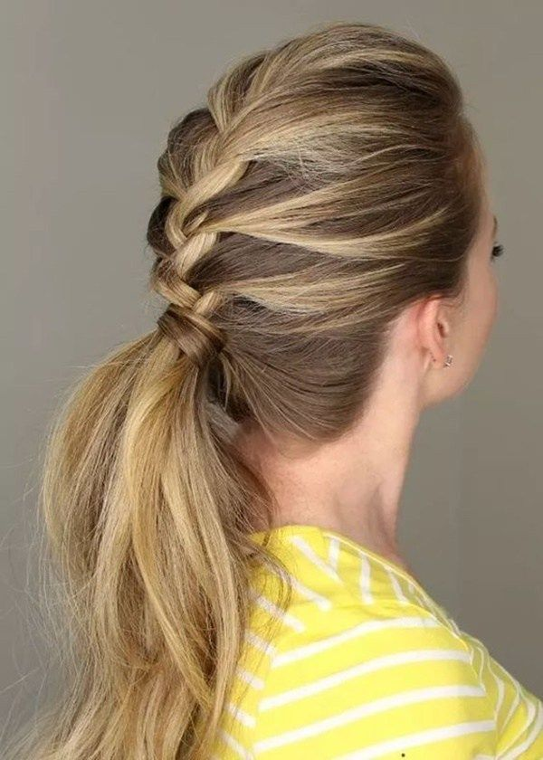 50 Incredibly Easy Ponytail Hairstyles For Long Hair You Should Try Now - EcstasyCoffee