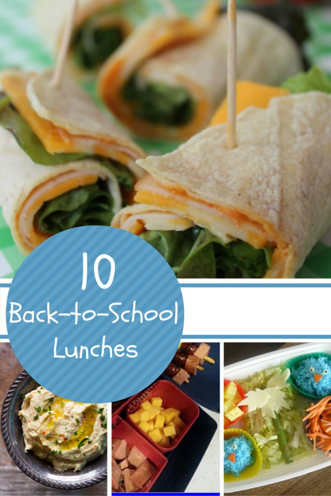 Back to School Lunches - Spaceships and Laser Beams
