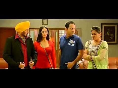 nice Carry on Jatta Gippy's Father Catches Gippy with Wife || Punjabi Comedy Scene