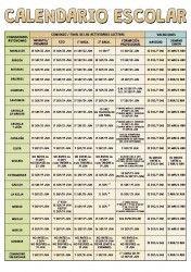 Calendario escolar 2014-2015 por Comunidades Autonomás | BolsaSpain