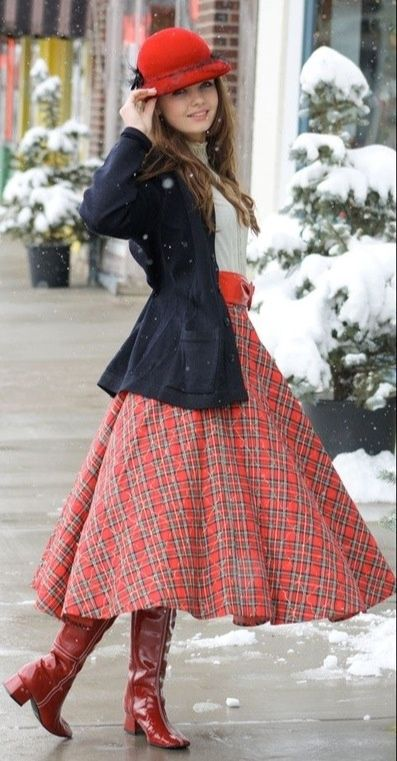 You might be dreaming up adorable spring outfits in your head, but winter is not over yet! Here are some cute modest winter outfits to give you inspiration. | themodestmomblog.com