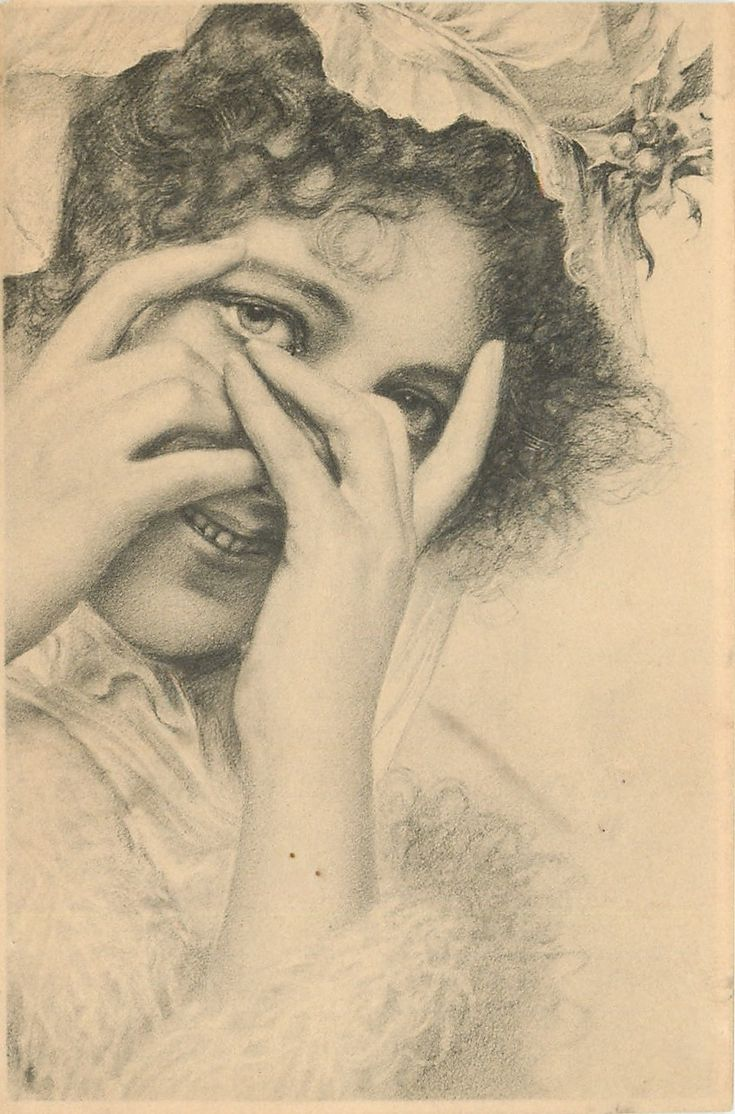 Beauty on old postcards. Part of the twelfth. Comments: LiveInternet - Russian Service Online Diaries