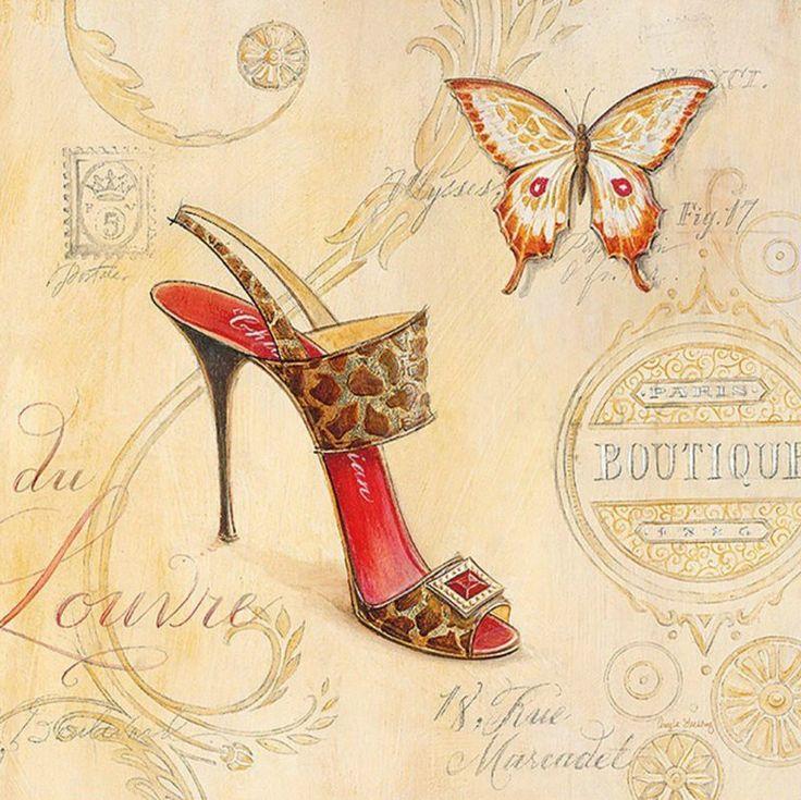 Открытки с ботинками