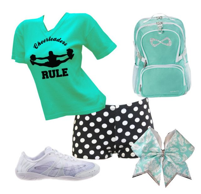 """Cheer Practice"" by cheerleader-for-life1 on Polyvore"