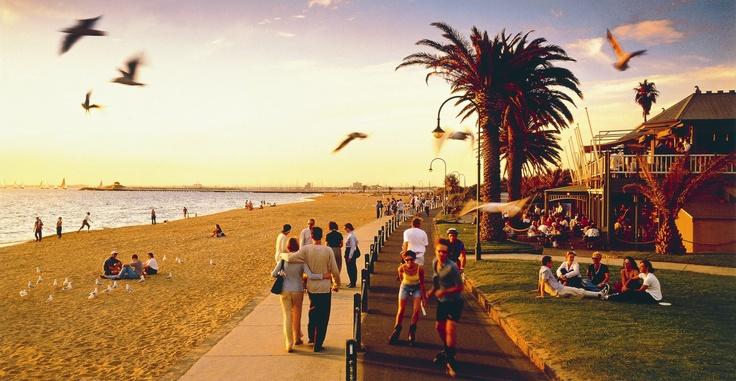 St Kilda Beach - Melbourne.