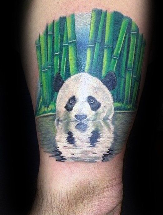 100 Panda Bear Tattoo Designs For Men Manly Ink Ideas Tattoo