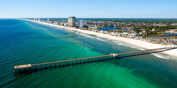 Panama City, FL...loved living here too...used to spend a lot of time on that beach when I was young.
