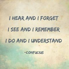 experiential learning quote - Google Search