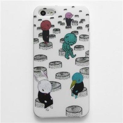 Hand Draw Design iphone 5/5s Case (Homeless)