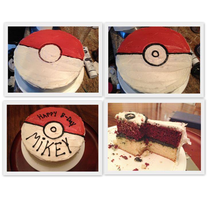 Homemade Pokemon Cake...I choose you!!! (birthday treats pokemon)