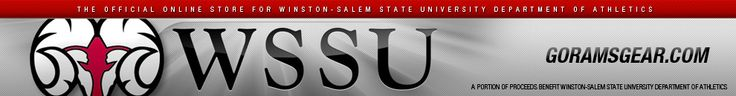 Winston-Salem State University Winston Salem Champion Red Fleece Hood WSSU Rams Football Champions Shield 2012