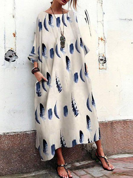 a122032fb9d81 Buy Summer Dresses For Women at JustFashionNow. Online Shopping Crew Neck  Women Summer Dress Cocoon Maxi Dress, The Best Going out Summer Dresses.