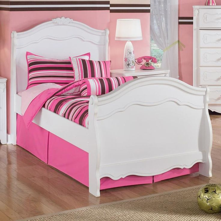 Exquisite Twin Sleigh Bed By Signature Design By Ashley Furniture  #kidsfurniture #kidsroom