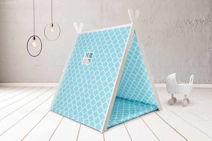 KraftKids Spielzelt marokkanisches Klee türkis: Amazon.de: Baby