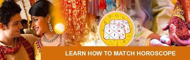 Vedic astrologi kundali match gör