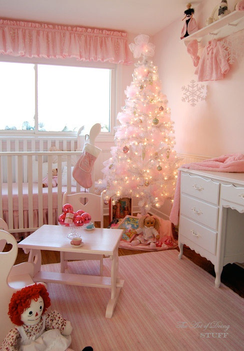 What A Beautiful Idea To Decorate A Little Girl 39 S Room At