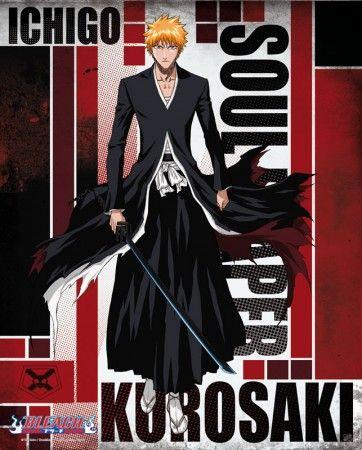 Bleach poster Ichigo Bankai http://www.abystyle-studio.com/en/bleach-posters/170-bleach-poster-ichigo-bankai.html