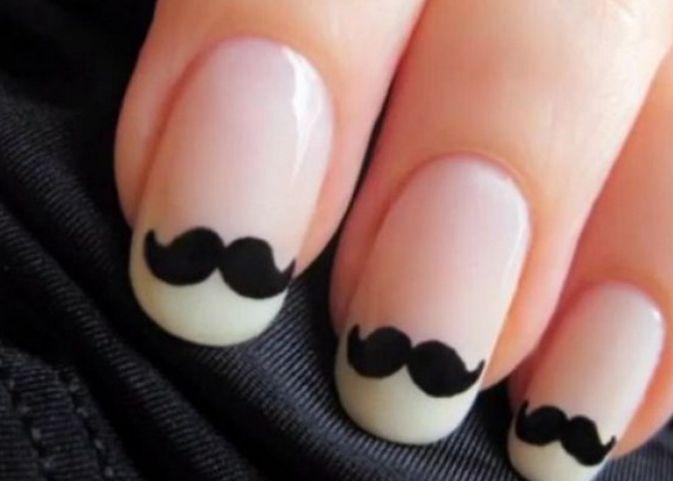 Le moustache tip - francesinha decorada